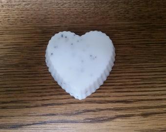 Lavender lemon poppy seed soap