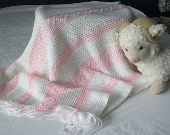Hearts Abound Crochet Baby Blanket