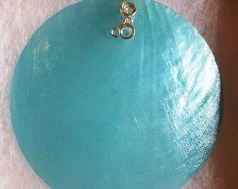 Capiz Shell Pendant
