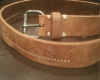 Vintage Armani Leather Belt