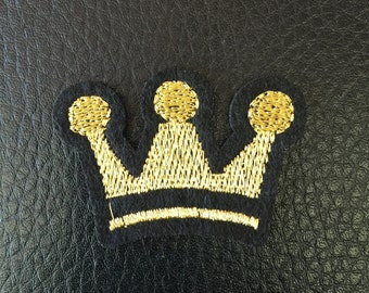 Crown Iron on Patch Free Shipping!!