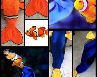 NEMO&DORY couchblankets for children and Adults