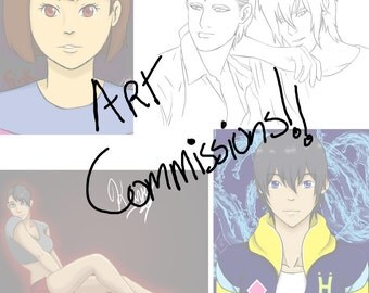 Anime Style Commissions