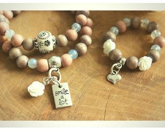 Mother Daughter (birth) bracelet