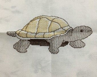Blackwork turtle