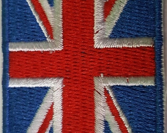 UK Flag Union Jack Brand New Iron on Patch