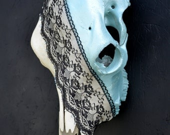 Lace Cow Skull