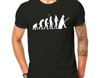 Inspired By StarWars Evolution Of Vader Mashup T Shirt Black ScreenPrinted Design All Sizes