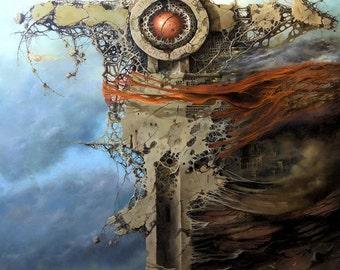 "Original Oil Painting ""EUROPA"""