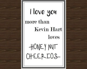 Kevin Hart Poster, 8.5x11, Kevin Hart Print