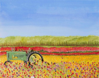 Tulips and Tractors