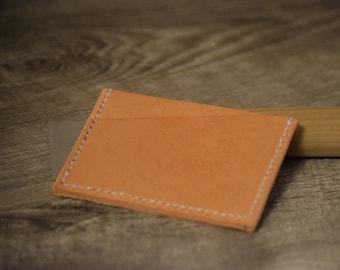 Business Card Wallet, Slim card holder, front pocket wallet