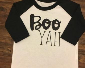Halloween shirt, Boo-Yah, Boo shirt