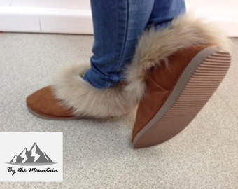 Portuguese Genuine Sheepskin Slippers  **Warm and Comfortable**