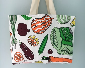 Eat Your Greens Shopping Tote Bag