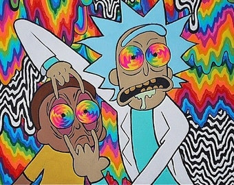 Rick And Morty Hat Etsy - Www imagez co