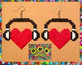 Music Lovers Hama Earrings