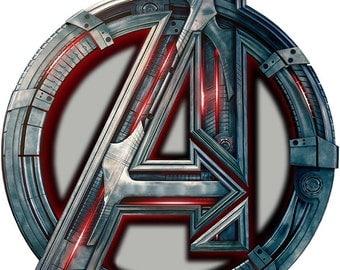 The Avengers Logo Halloween or Everyday Iron on Transfer