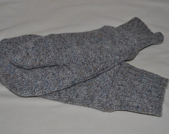 Grey Wool Mittens (Men's)