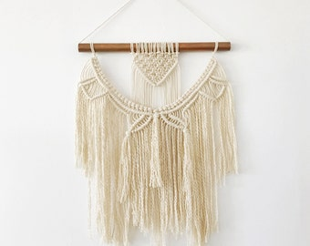 Copper & Cotton Macrame Wall Hanging - Small