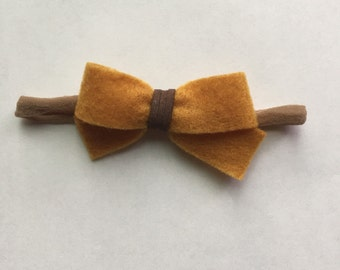 Rustic Tied Bow