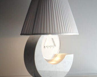 Lunatica - marble table lamp