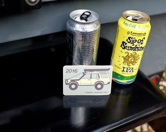 2016 Vermont Overland Rally sticker