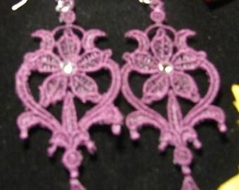 Joleen Embroidered Earrings