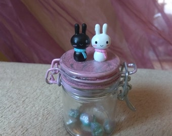 Bunny and rabbit - a jewel case