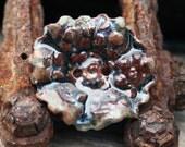 Handmade Porcelain Button