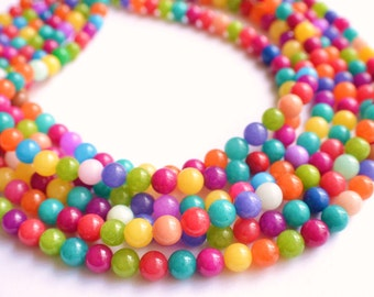 The Michelle- Candy Jade Chunky Necklace