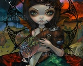 Unseelie Court: Wrath dark fairy art print by Jasmine Becket-Griffith 8x10 7 seven deadly sins