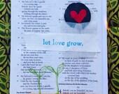 Let Love Grow Card 5