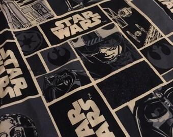 Cotton remnant fabric scrap - Star Wars