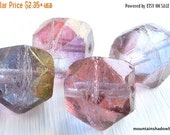 25% OFF Sale Amethyst Luster Czech Glass Beads 16mm English Cut - You Choose Quantity