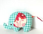 Spring Colors Baby Girl Gift Stuffed Elephant Plush Softie