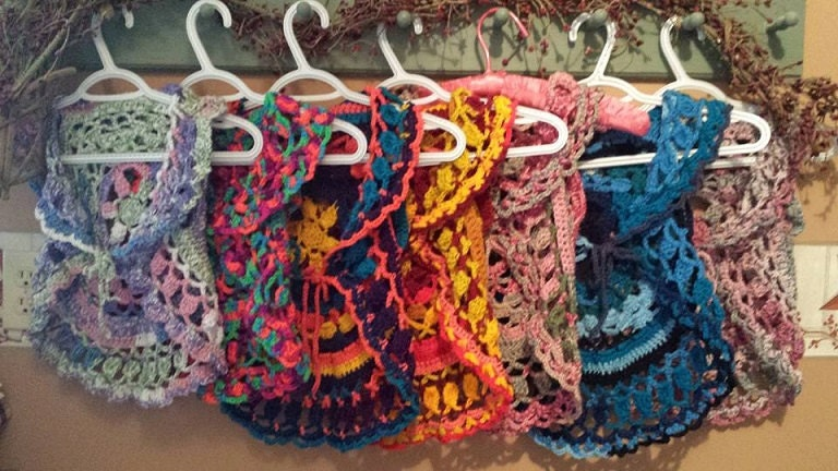 Free Crochet Pattern For Mandala Vest : PDF Crochet Pattern to make Toddler Child Mandala Circle Vest