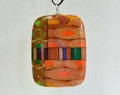 Loops, stripes, and dots pencil pendant pencil jewelry