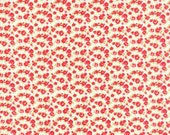 Little Ruby - Little Rosie in Cream: sku 55138-17 cotton quilting fabric by Bonnie and Camille for Moda Fabrics - 1 yard