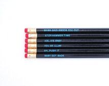Pencils // Classic Rap  Pencil Set
