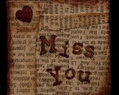 Miss You - Miniature painting