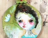 Joy  - original ornament by Mindy Lacefield