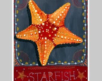 Animal Totem Print - Starfish