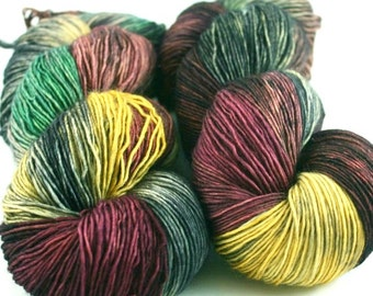 Sale - Special Skeins 217 - Simplicity - Hand Dyed Yarn
