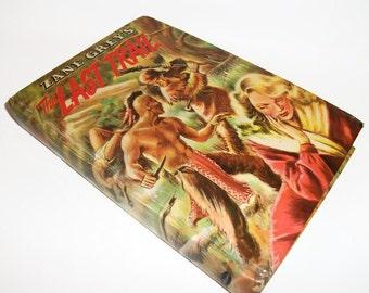 Vintage Hollow Book Zane Grey's Last Trail 1954 Secret Stash Compartment Keepsake box