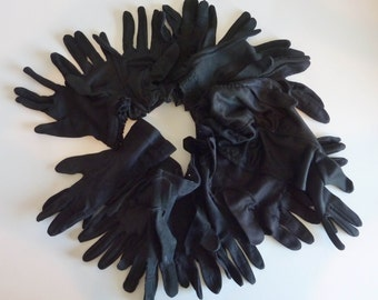 Black glove scarf