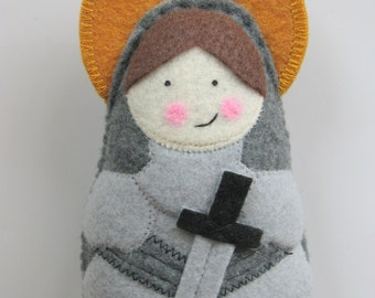 Saint Joan of Arc....Felt Softie
