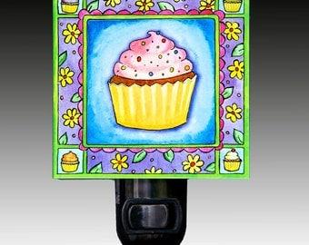 Cupcake Night Light