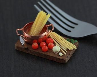 Spaghetti, Tonight - 1:12 Scale Preparation Board