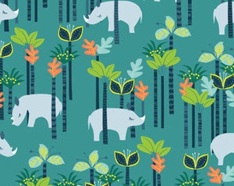 Shopping Cart Cover - Shopping cart cover for BOY or GIRL -  Custom Boutique Cart Cover - Rhinos